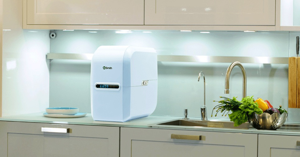 Máy lọc nước Aosmith A2 sang trọng, tinh tế có thể lắp ở bất cứ đâu trong phòng bếp