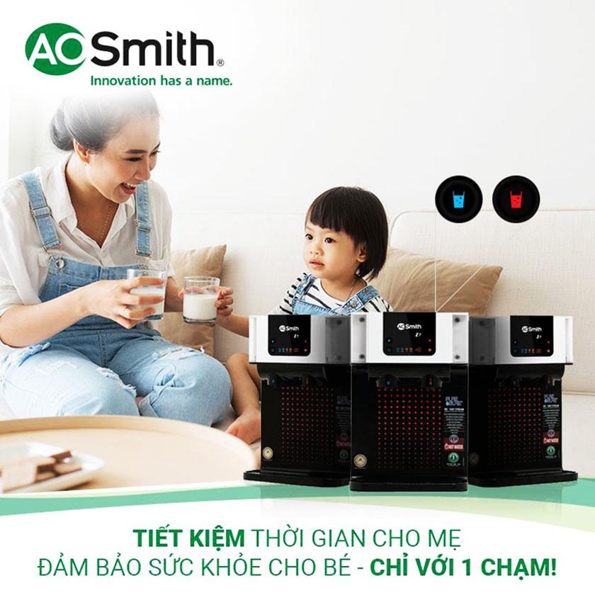 Đảm bảo sức khỏe cho bé với máy lọc nước Z7 của hãng A.O.Smith