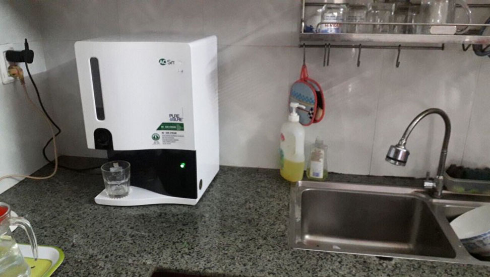 Hình ảnh lắp đặt máy lọc nước Ao Smith Z4