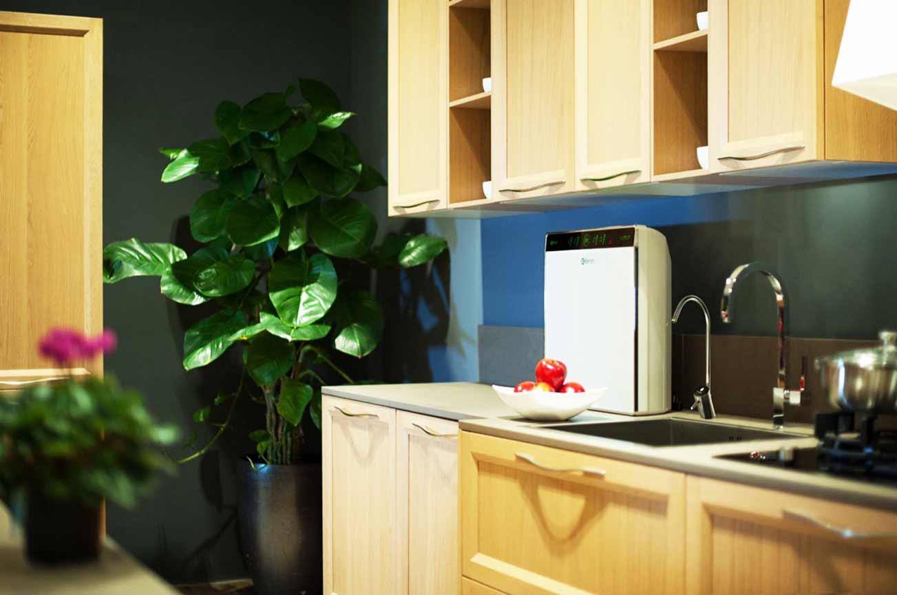 Hình ảnh máy lọc nước Ao Smith U3 trong phòng bếp