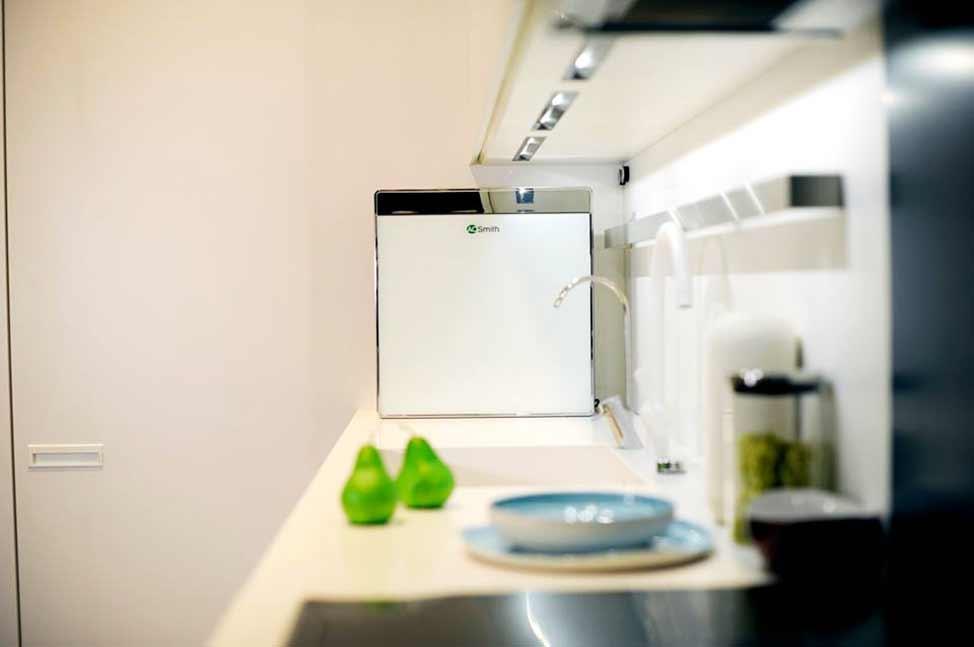 Thiết kế siêu mỏng vô cùng sang trọng - Máy lọc nước UV Ao smith AR600 U3