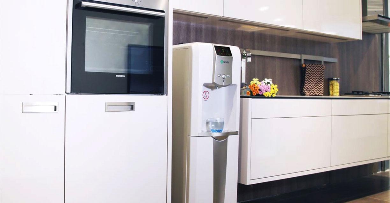 Hình ảnh thực tế lắp đặt dưới nhà bếp máy lọc nước Aosmith ADR75 V-ET-1