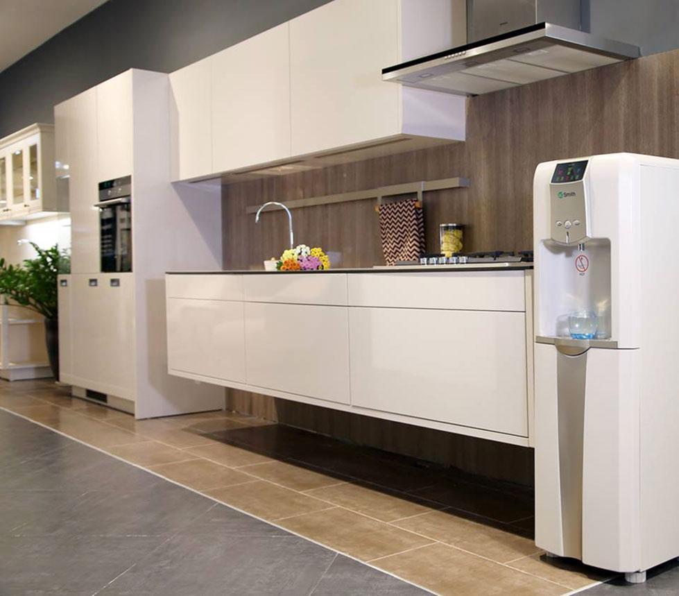 Hình ảnh thực tế máy lọc nước nóng lạnh Aosmith V-ET-1