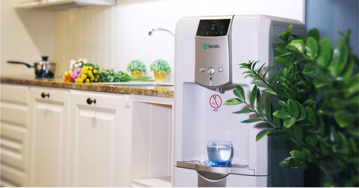 Hình ảnh thực tế máy lọc nóng lạnh Aosmith ADR75 V-ET-1