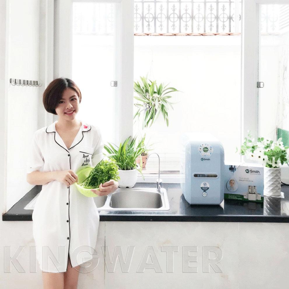 Máy lọc nước A1 thiết kế vô cùng nhỏ gọn, tinh tế