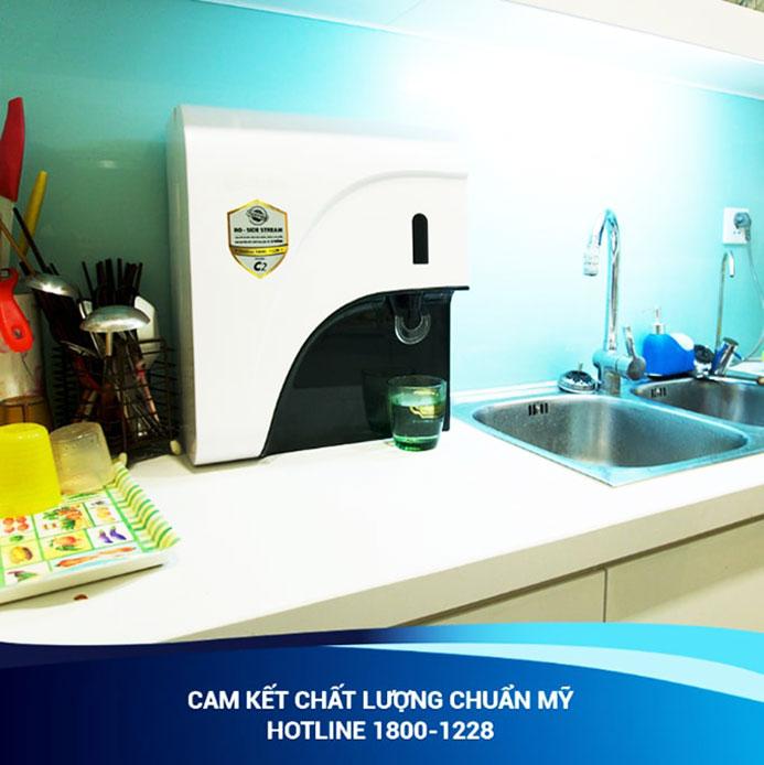 Hình ảnh thực tế lắp đặt máy lọc nước Ao Smith C2