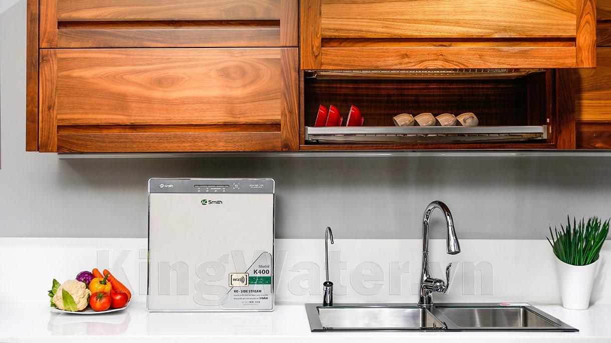 Khách hàng đã dùng máy lọc nước Aosmith K400