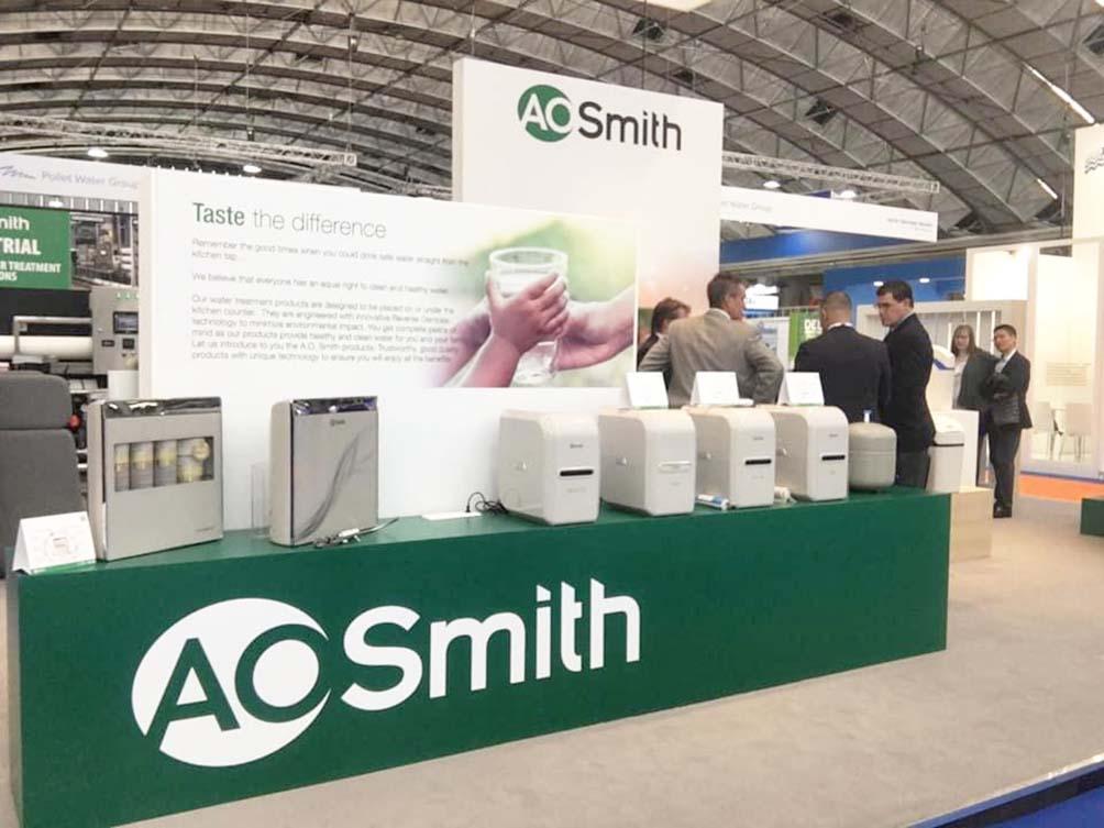 Ao Smith cung cấp các sản phẩm máy lọc nước hiện đại