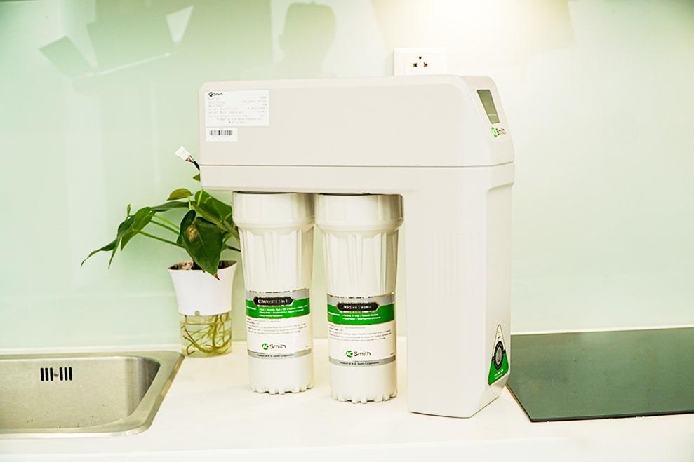 Hình ảnh thực tế máy lọc nước Aosmith R400E